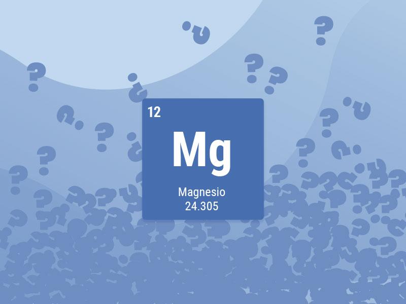 Preguntas frecuentes sobre magnesio